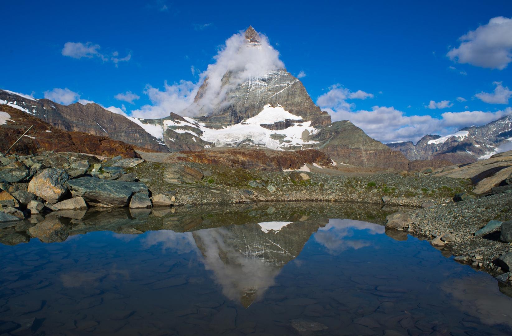 ...noch einmal das Matterhorn
