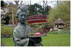 noch einmal die Geisha-Skulptur