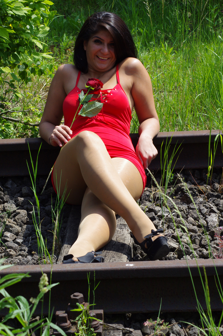 Noch einmal Lady in Red.