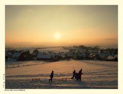 """Noch einmal winterlich........oder auch """"Schnee von gestern"""" :-)"""