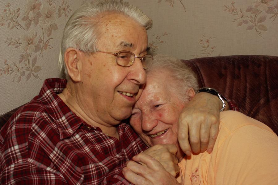 Noch immer glücklich - nach 56 Jahren Ehe