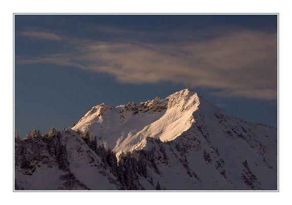 Noch immer tiefer Winter, in den Bergen!!!