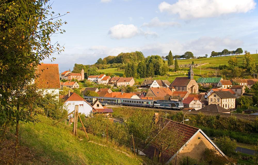 Noch mal die Ortsdurchfahrt Tieffenbach