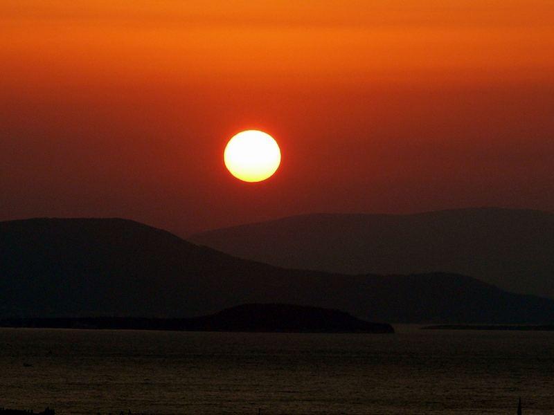 noch mal ein Sonnenuntergang