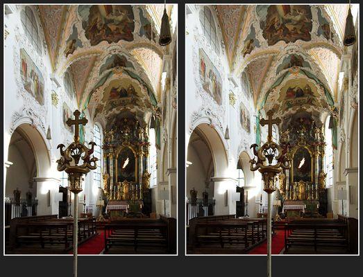Noch mal St. Zeno in Markt Isen [3D]