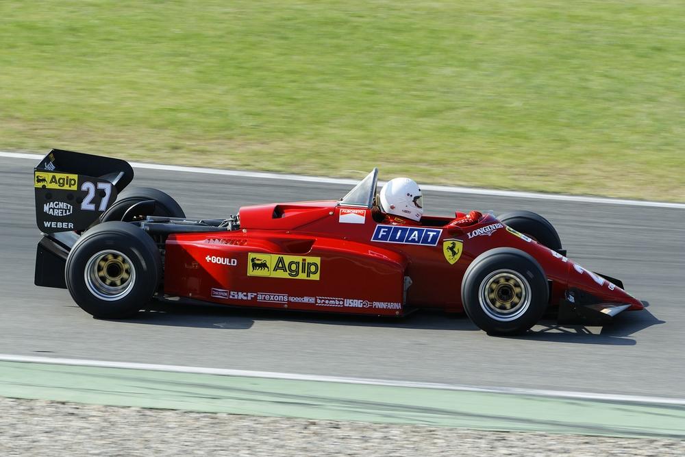 noch mal Turbozeiten bei F1