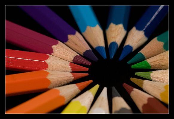 Noch mehr bunte Stifte