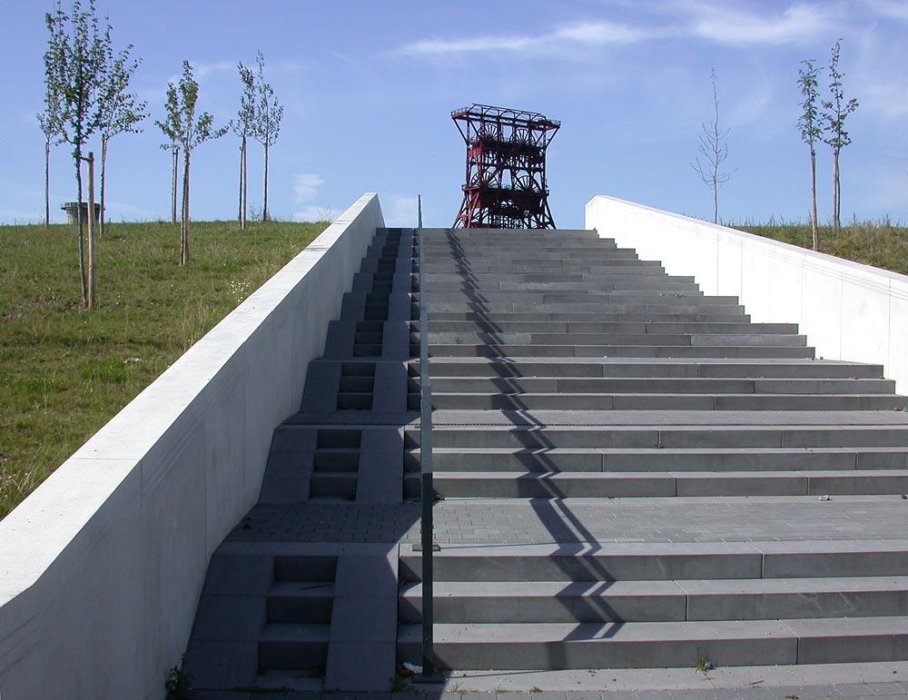 Noch mehr Treppe...