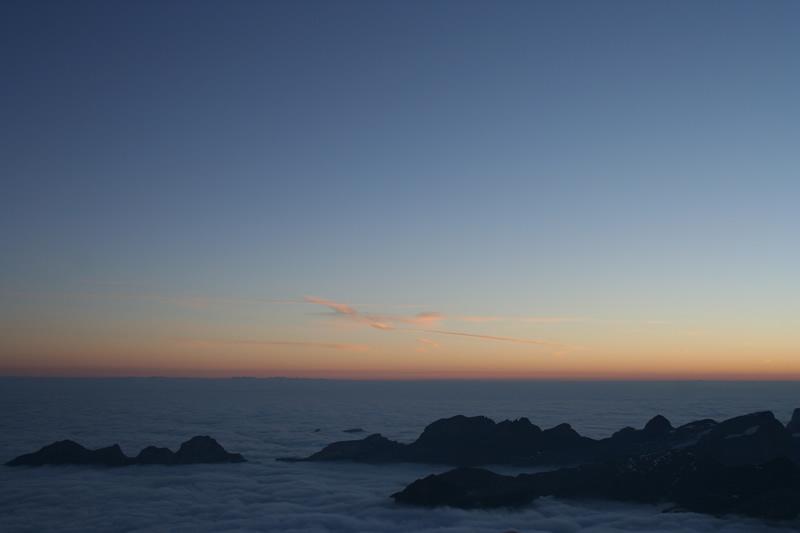 Noch mehr Wolkenmeer