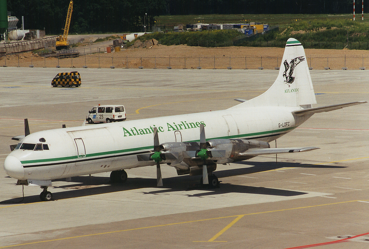 Noch nicht Geschichte-Lockheed Electra der Atlantic Airlines