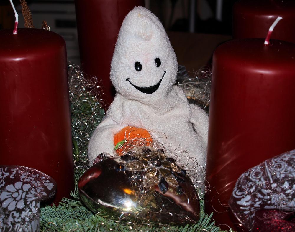 ...noch nie was vom Geist der Weihnacht gehört ?