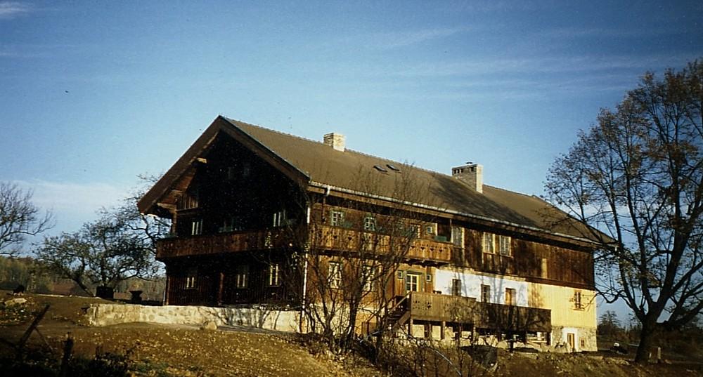 noch ohne Anbau vor 1988