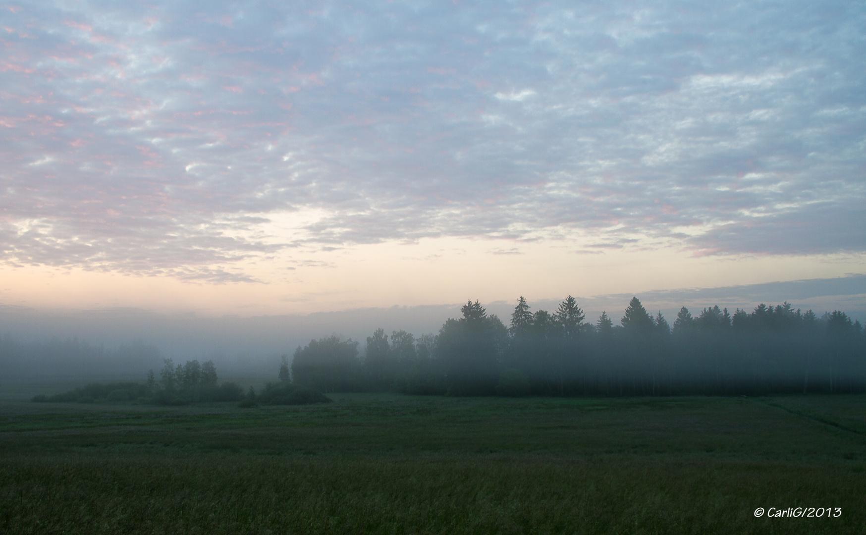 Noch vor Sonnenaufgang