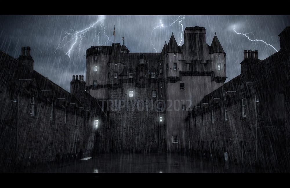 Noche de tormenta en Fraser Castle