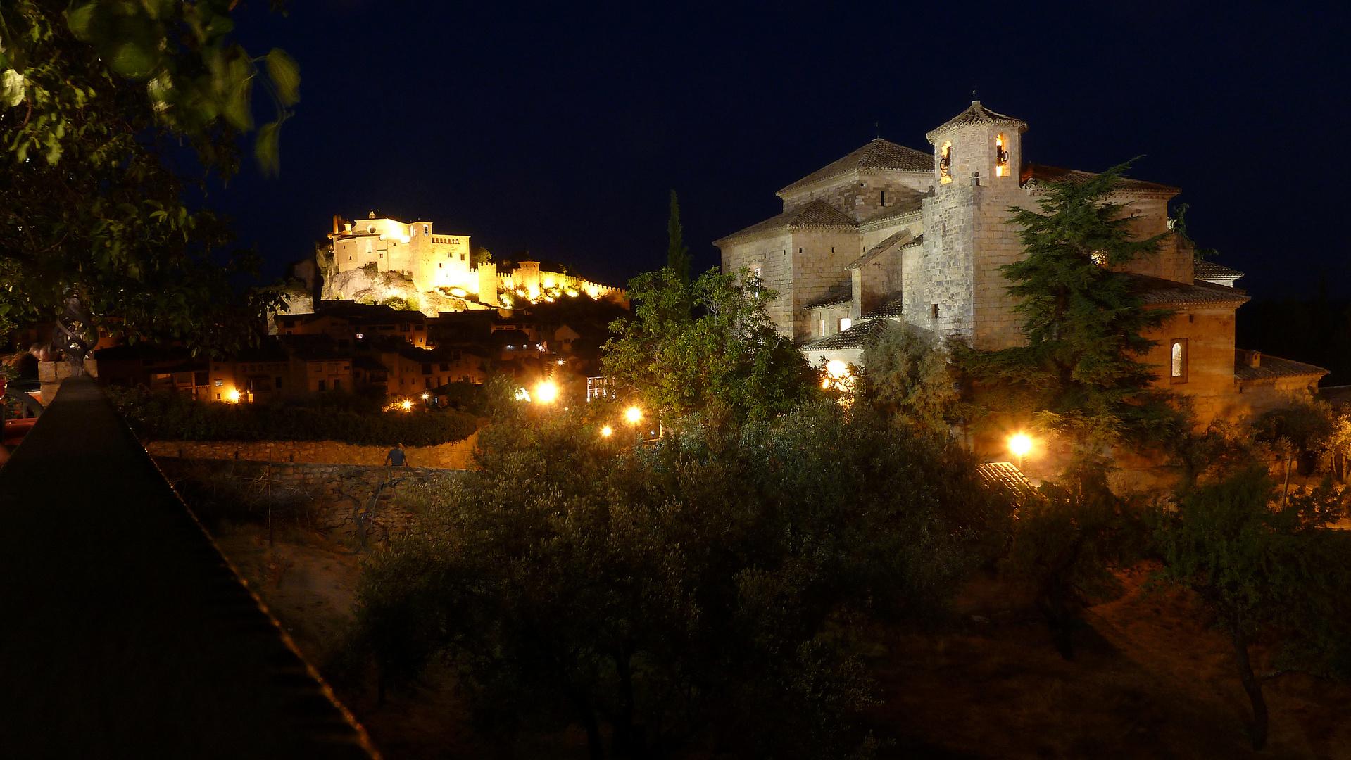 noche en Alquezar