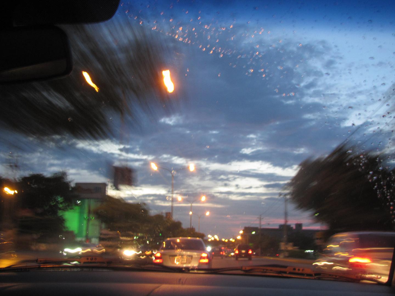 Noche lluviosa marabina.