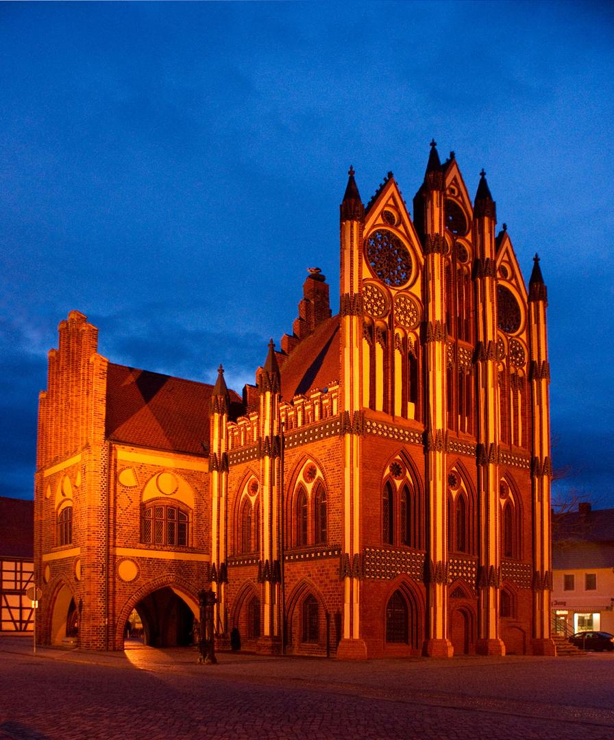 nochmal das Rathaus Tangermünde