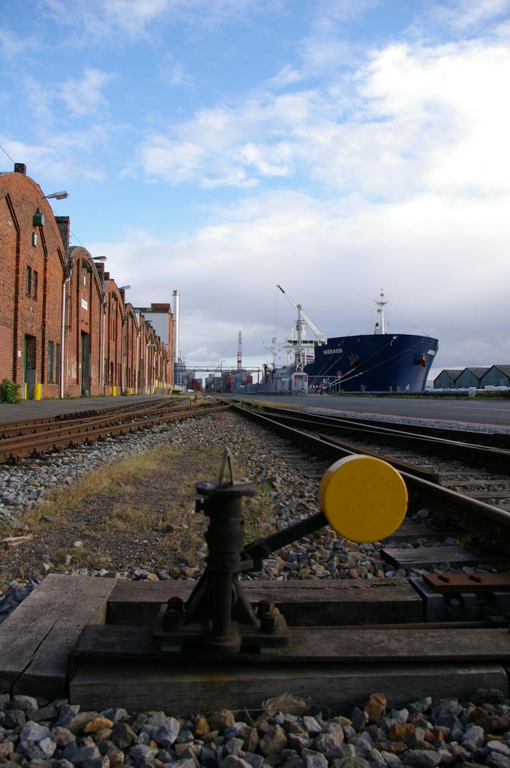 Nochmal der Hafen in Bremen