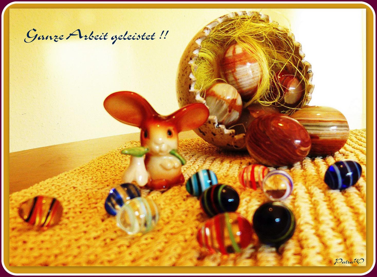 Nochmal Frohe Ostern für Alle