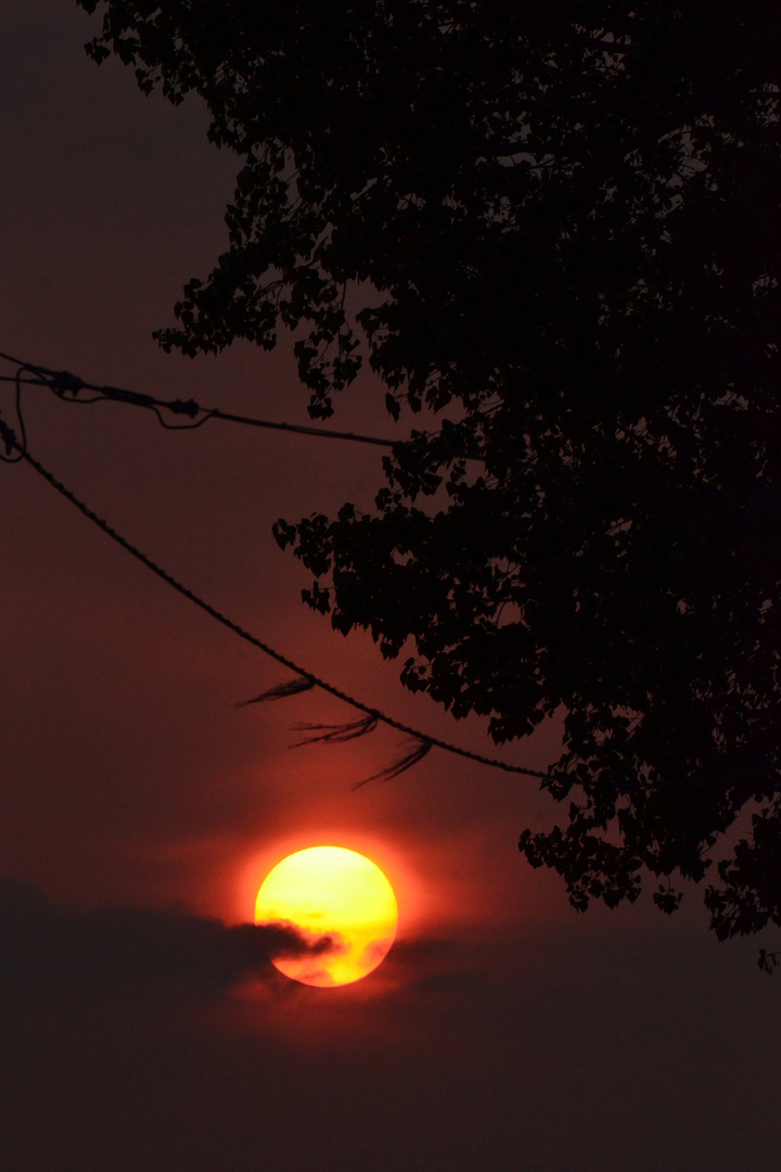 Nochmal Sonnenuntergang