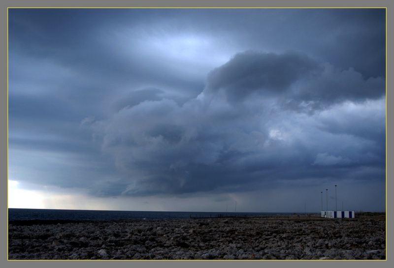 Nochmal Sturm über Apulien