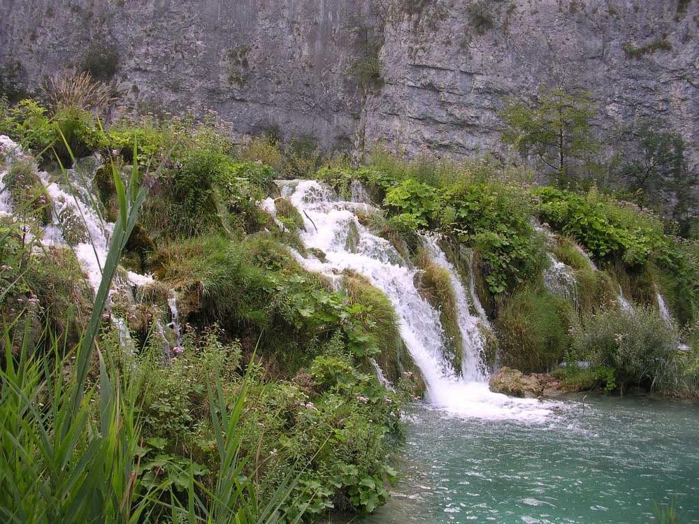 nochmals ein kleiner Wasserfall