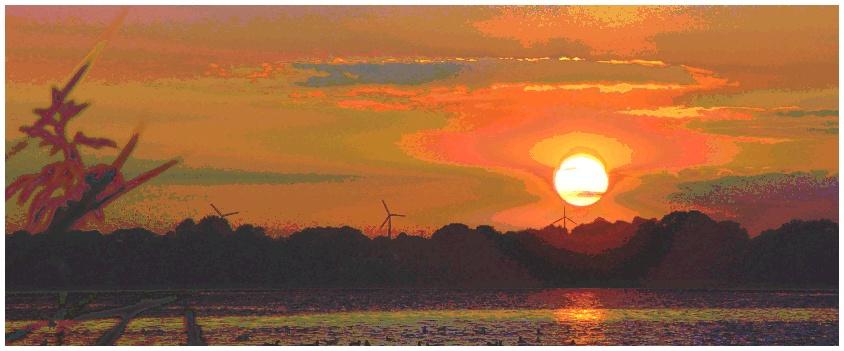 Noch'n Sonnenuntergang ...