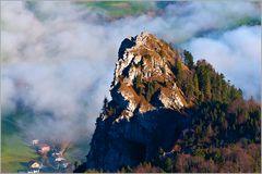 Nockstein im Nebel