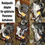 Nodalpunkt-Adapter für sphärische Panoramen