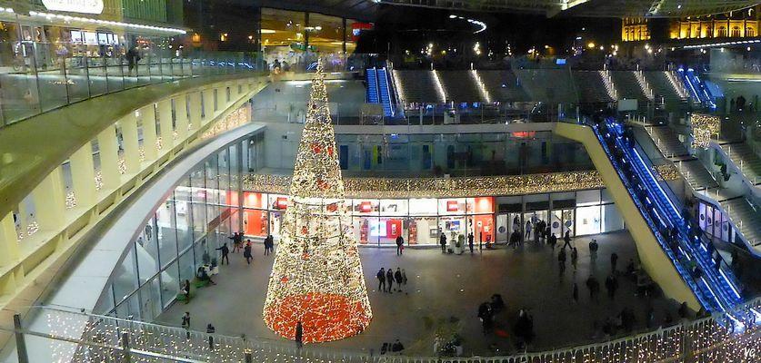 Noël à La Canopée des Halles...