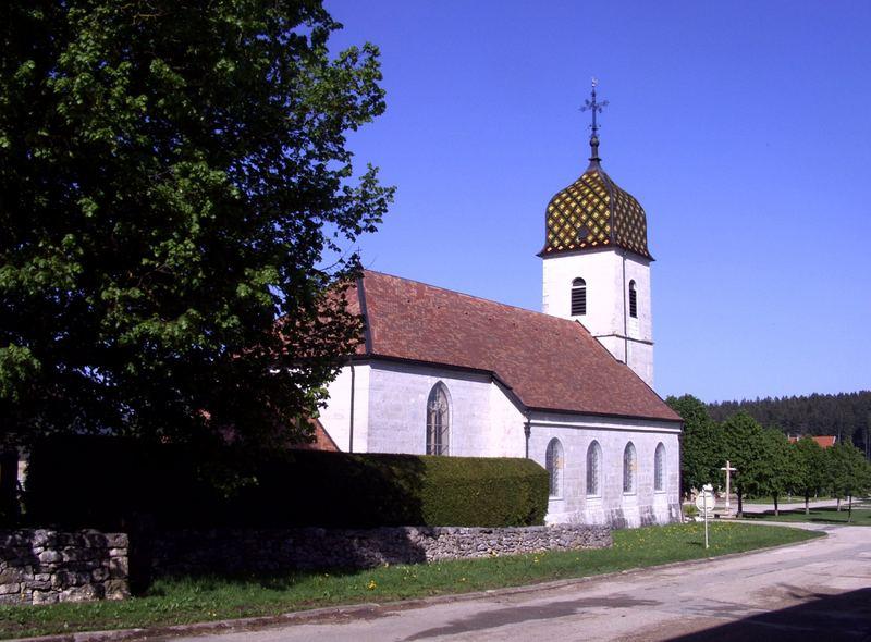 Noël-Cerneux - Die Kirche - L'église