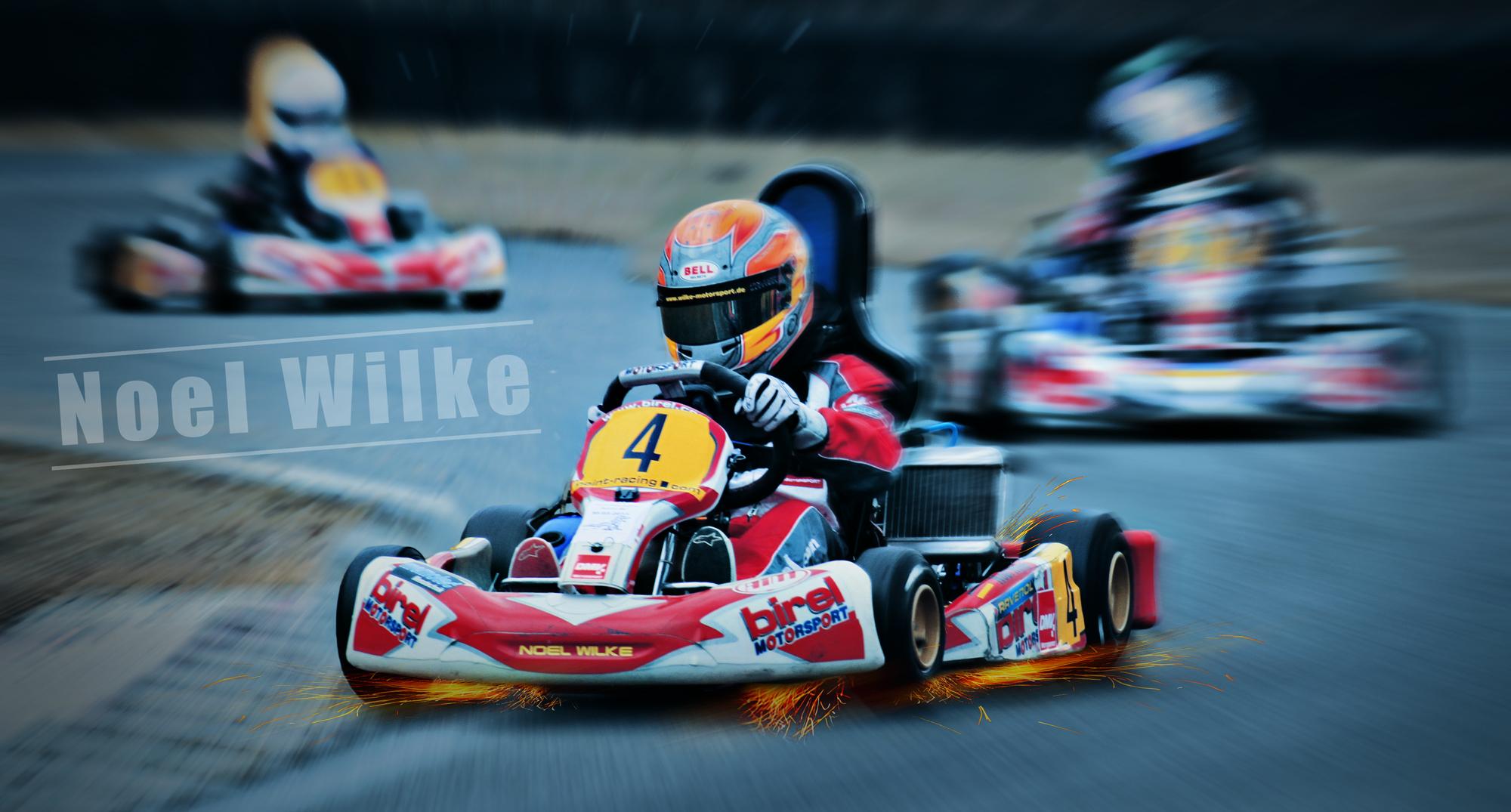 Noel Wilke racer