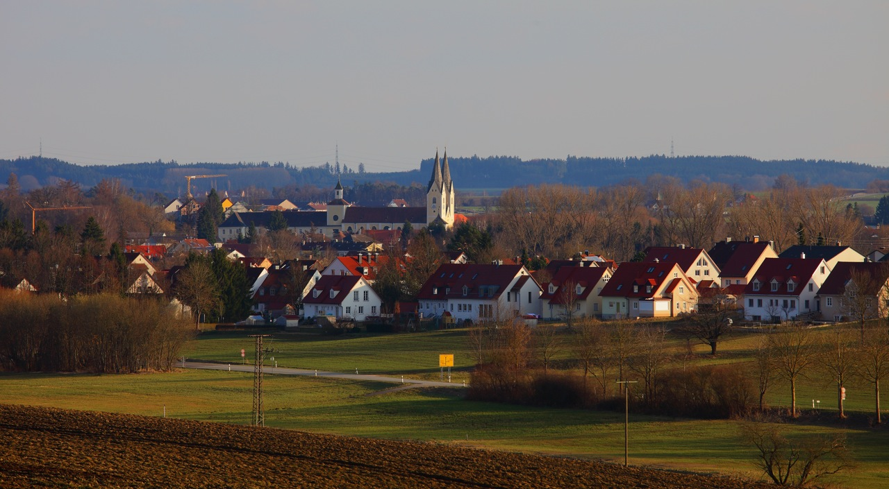 nördlich von Markt Indersdorf