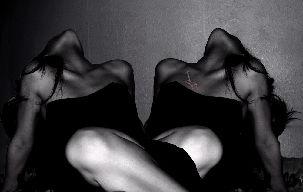 Noircir.