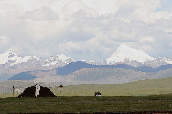 Nomaden am Nam Tso, Tibet