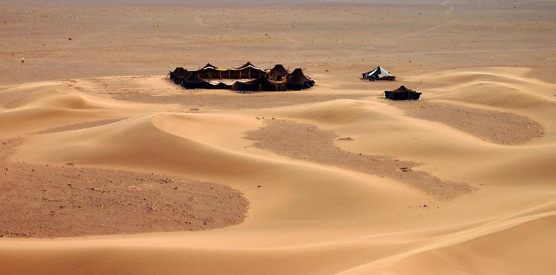 Nomaden am Rand der Wüste...