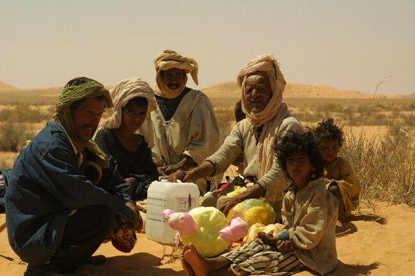 Nomadenvolk in Algerien
