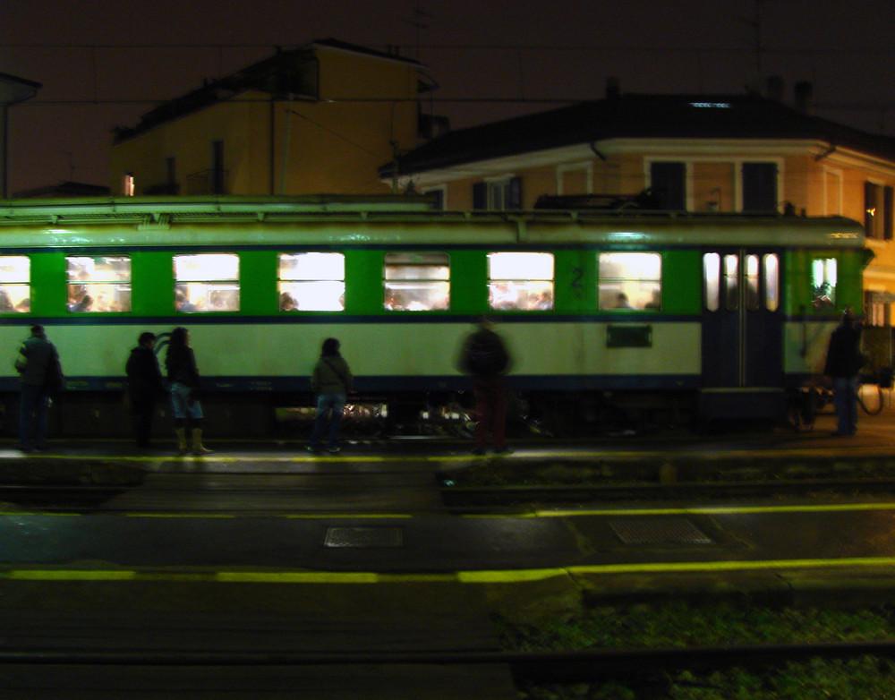 non è il treno per casa