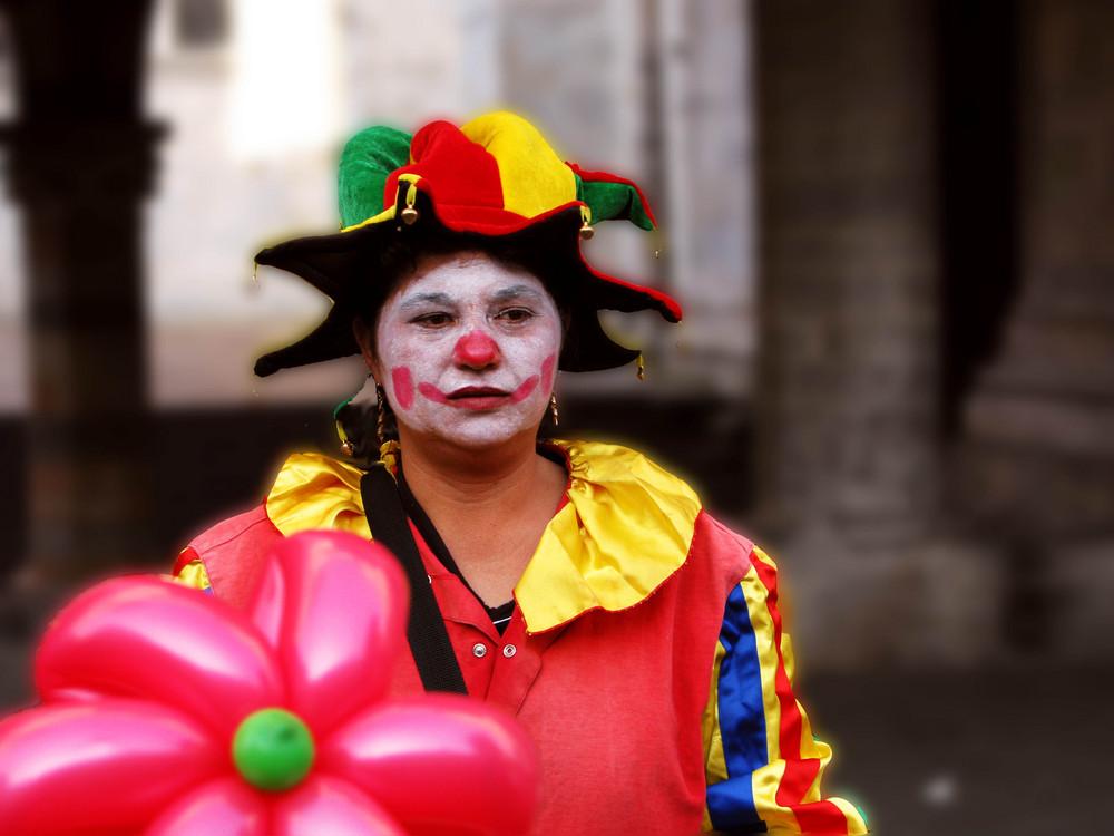 Non sempre i clown sorridono