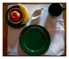 Nonnen-Gedeck zum Frühstück
