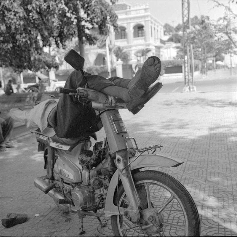 Noon Time - Sleeping Time in Phnom Penh