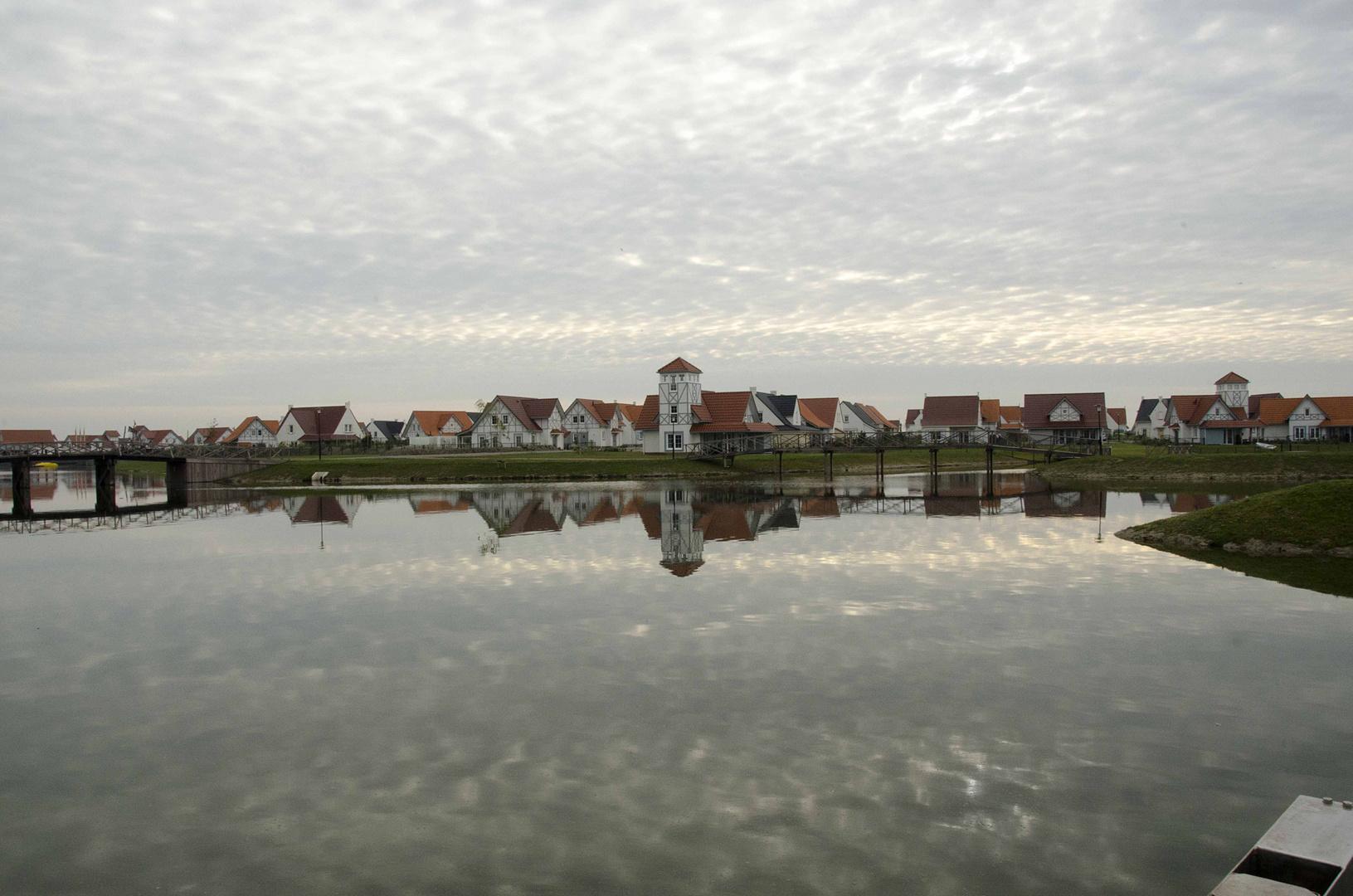 Noordzee Residence in Cadzand - Bad (Spiegelung)
