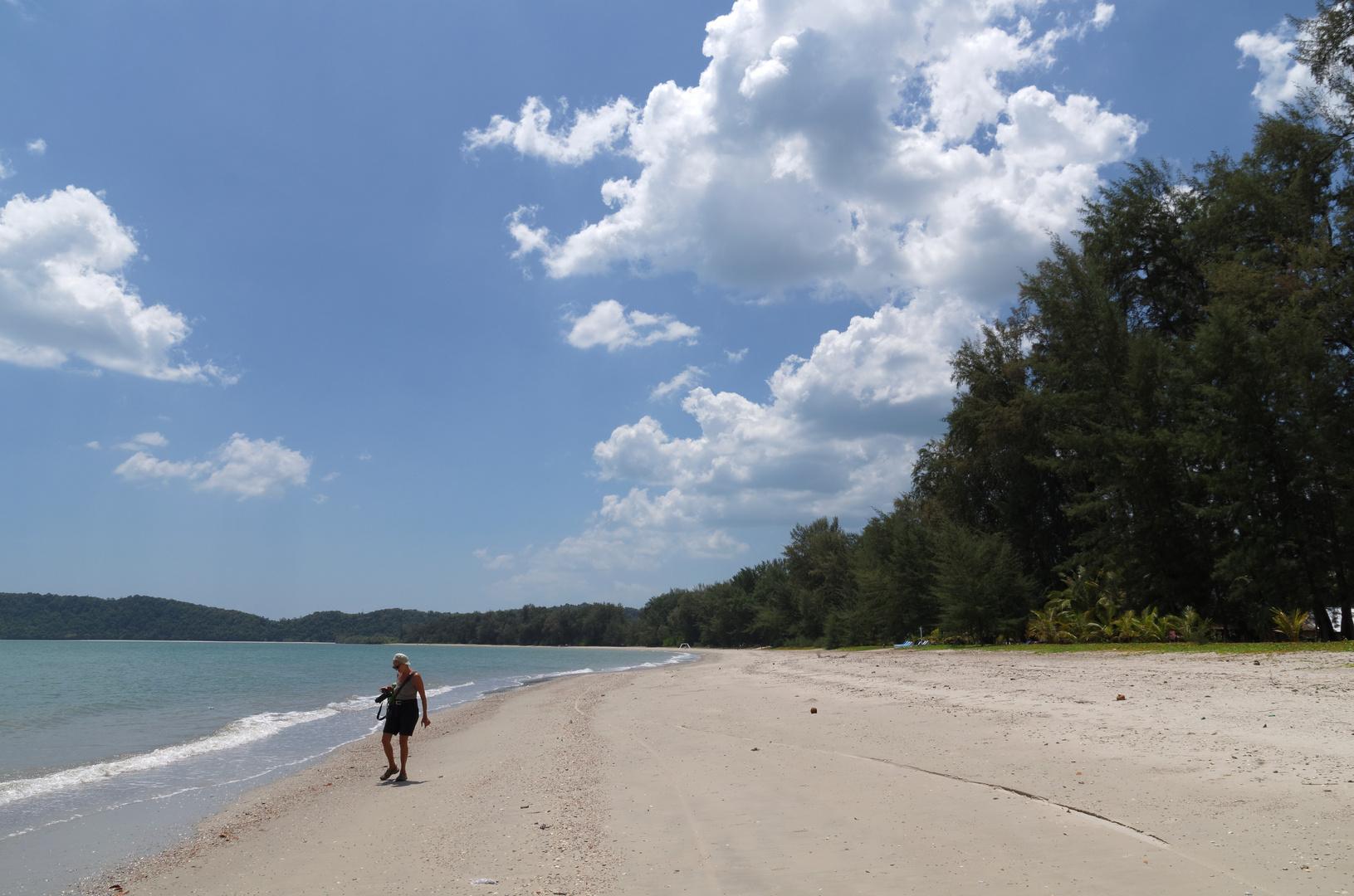 Noppharat Beach beim J2B Resort _2, Krabi, März 2014