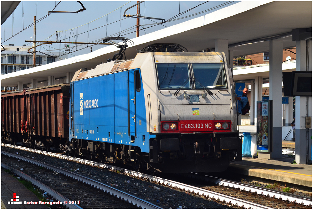 Nord Cargo Lokführerwechsel