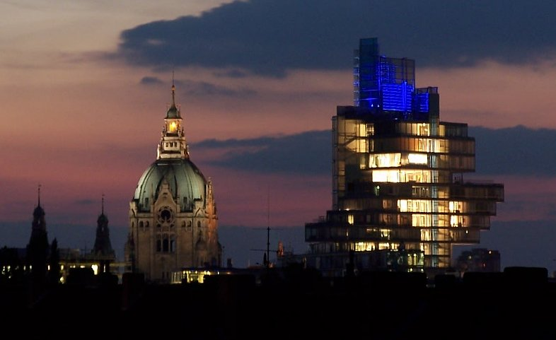 Nord LB und Neues Rathaus Hannover