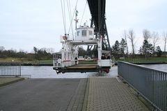 Nord-Ostsee-Kanal, Schwebefähre, Rendsburg