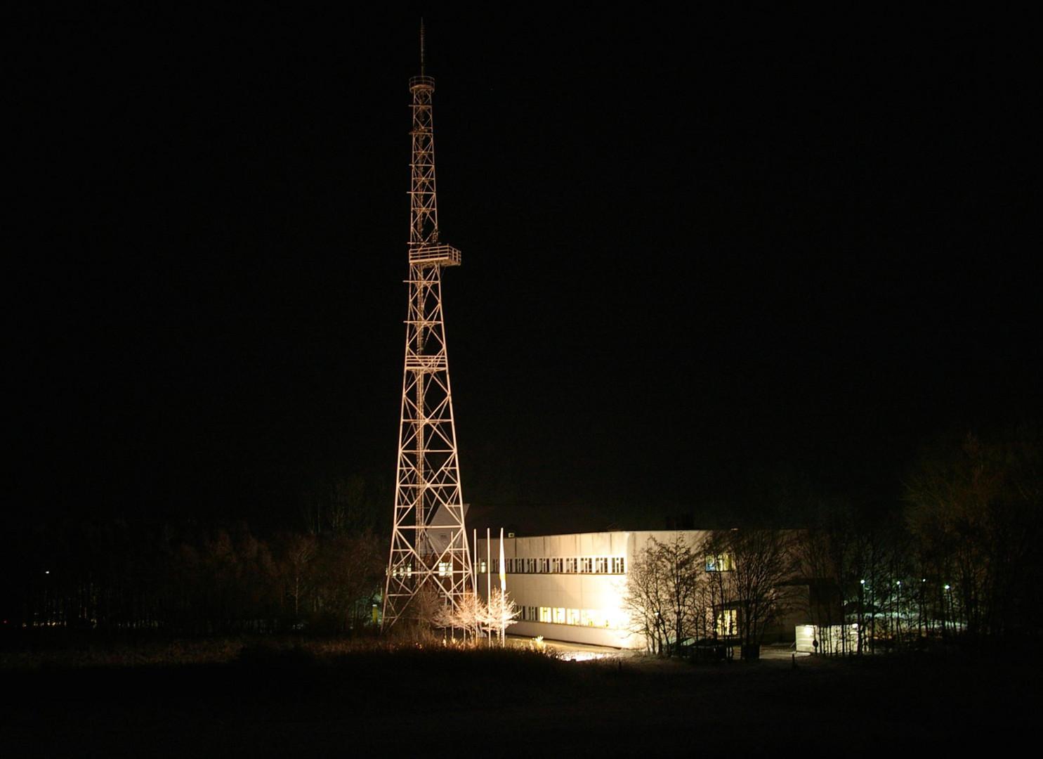 Norddeich Radio, der letzte Funkmast