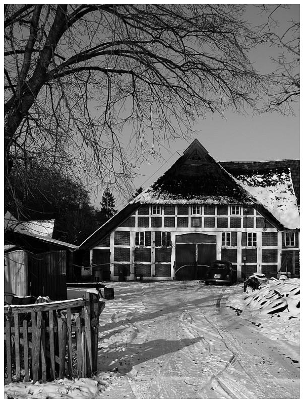 Norddeutsche Winteridylle *02*