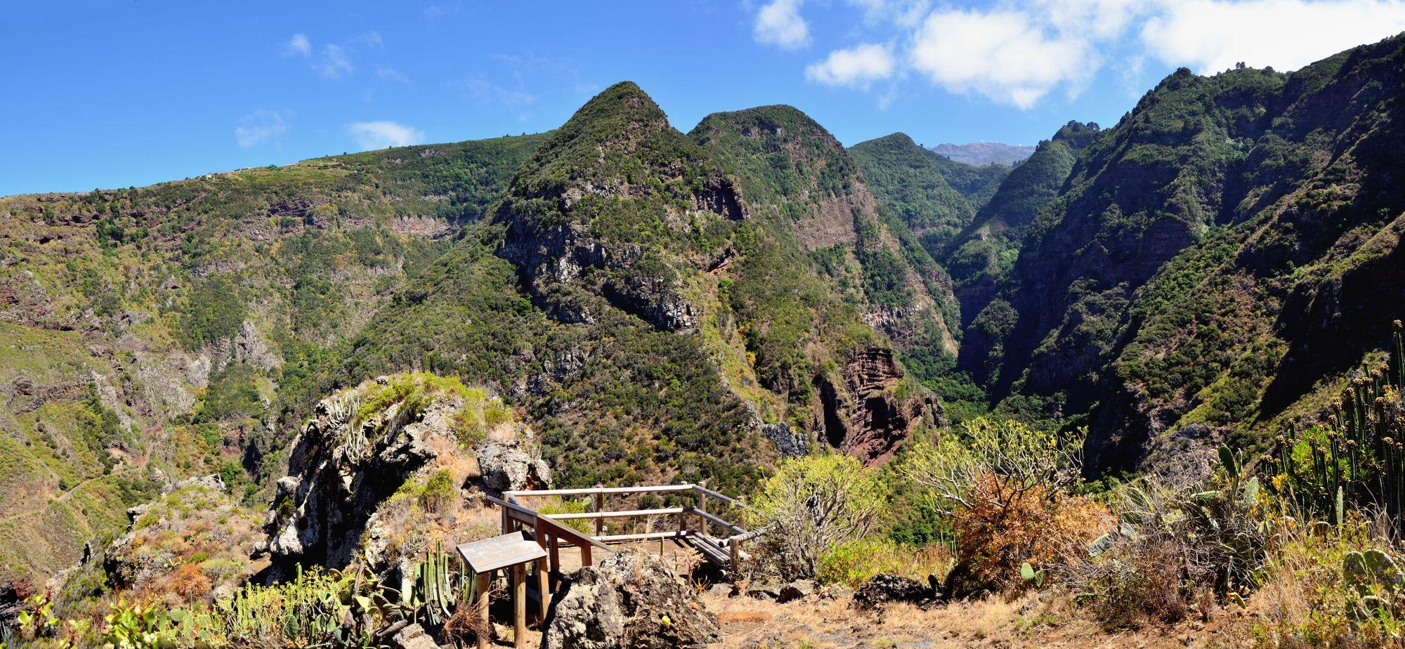 Norden von La Palma