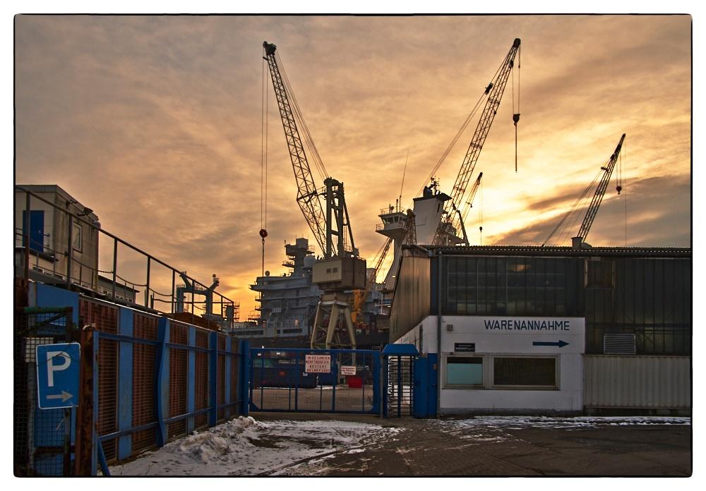 Norden Werft, Hafen Hamburg